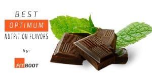 optimum nutrition flavors