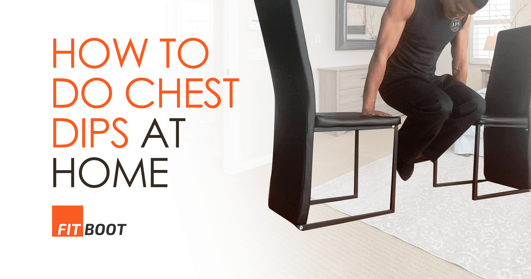 How To Do Chest Dips At Home With And Without Equipment