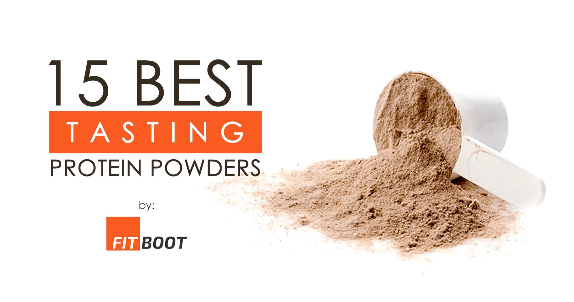 15 Best Tasting Protein Powders